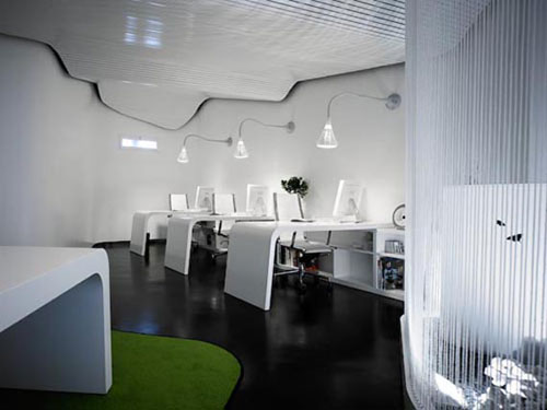 Креативный дизайн офисов