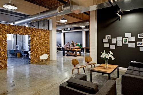 Креативный дизайн интерьера офисов