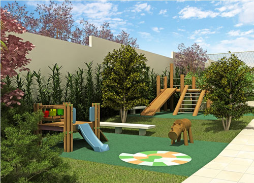 оформление детской площадки