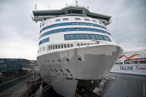 Экскурсия по круизному лайнеру Silja Serenade
