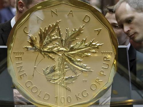 Самые большие монеты в мире