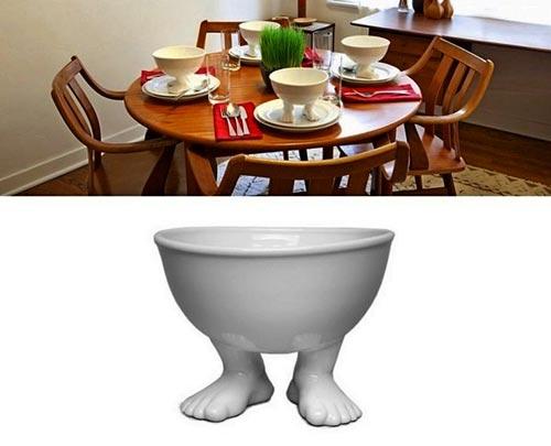 Посуда с ножками от Дилан Кендалл