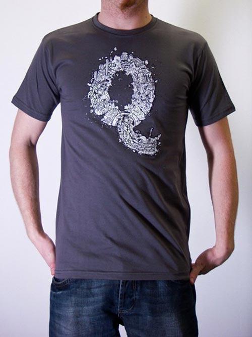 Творческий дизайн футболок
