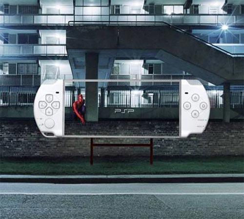 Творческая реклама от PlayStation