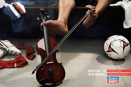Самая креативная спортивная реклама