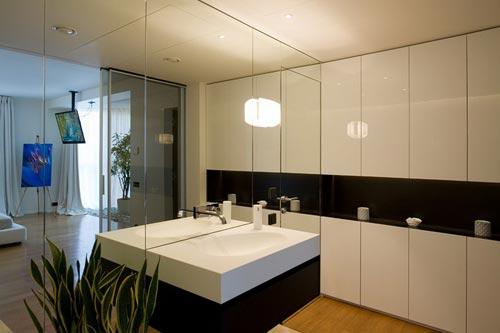 Красивая дизайнерская квартира в Москве