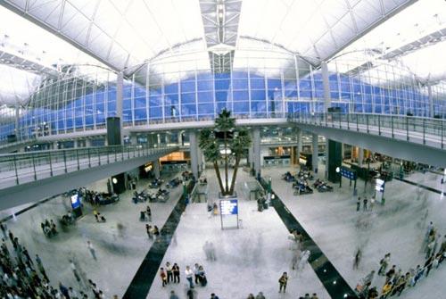 10 необычайных аэропортов мира