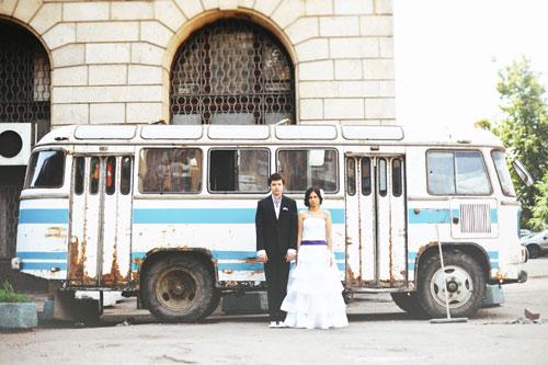 Главной героиней свадьбы