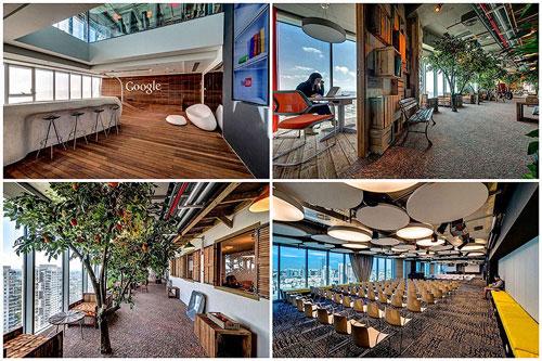 Креативный офис Google в Тель-Авиве
