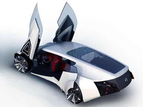 Экологический гоночный автомобиль от Nissan