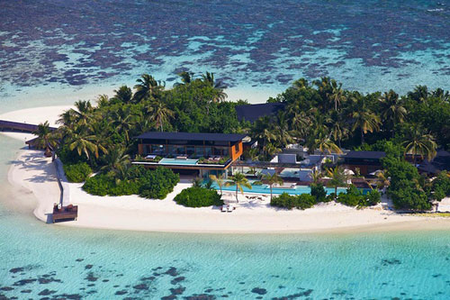 Отель Coco Privé на Мальдивских островах