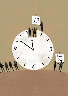 Эксперимент со временем и продуктивностью