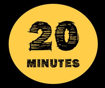 Правило 20 минут