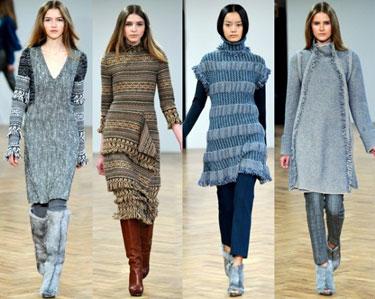 Зима-2013: главные тренды женской моды