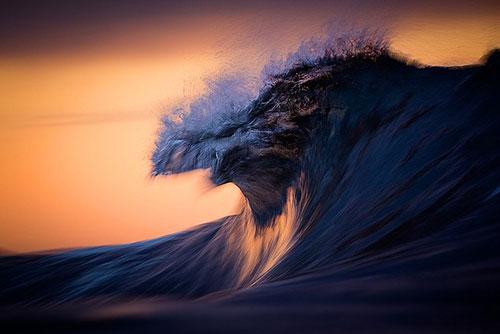 Фотографии океана как произведение искусства