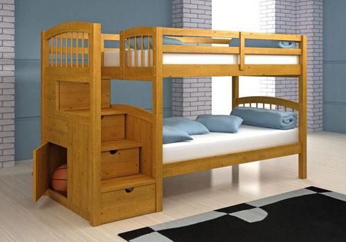 Красивые и необычные двухъярусные кровати