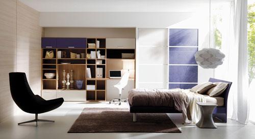 Красива модульная мебель для спальни