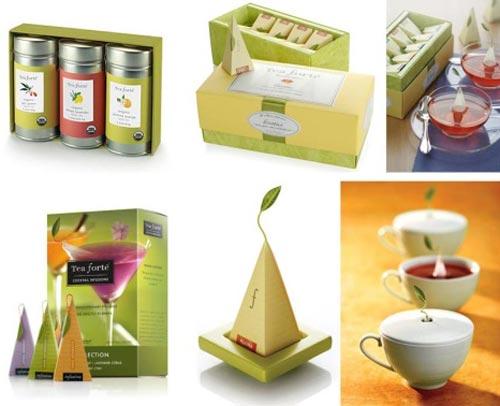 30 красивых чайных подарочных наборов