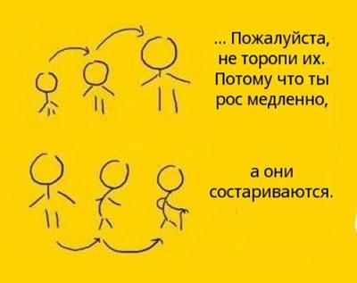 Не забывайте своих родителей