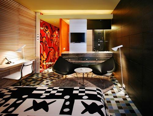 19 дизайнерских идей для гостиницы