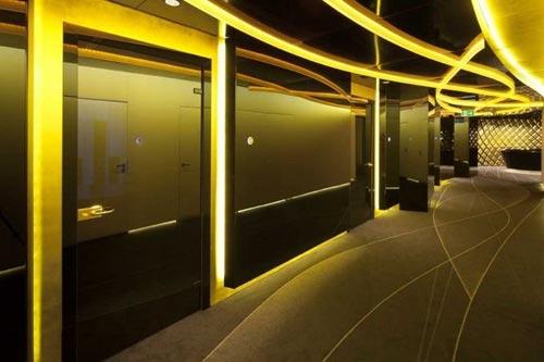Необычный золотой банк