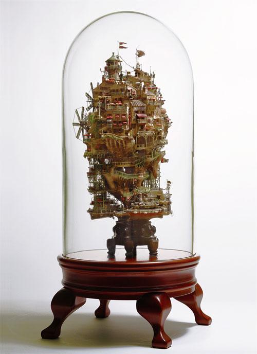 Невероятные скульптуры от Таканори Аиба