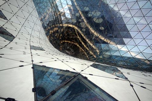 Торговый центр MyZeil во Франкфурте
