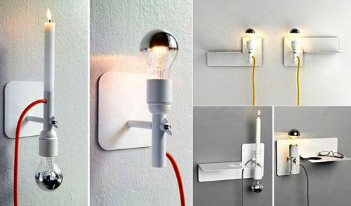 Светильники с необычным дизайном