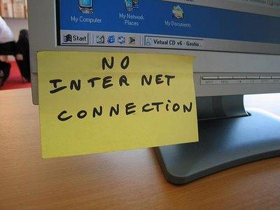 Чем заняться, если пропал интернет?