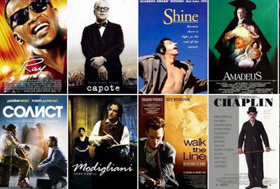 Лучшие биографические фильмы о творческих личностях