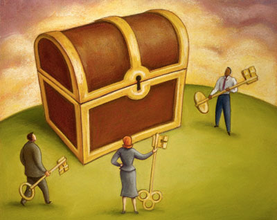 Как найти ключ к богатству и процветанию?