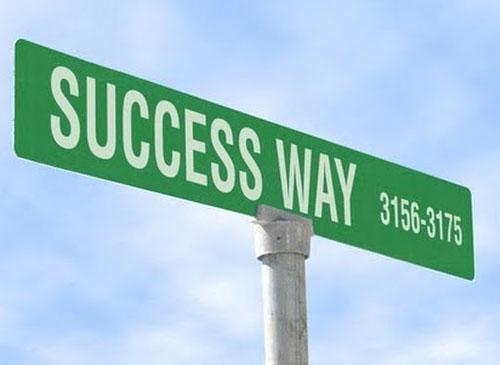 Когда вы движетесь в сторону успеха…