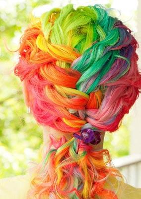 Как отмыть краску с волос