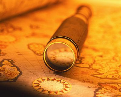 Подзорная труба для юных пиратов и астрономов