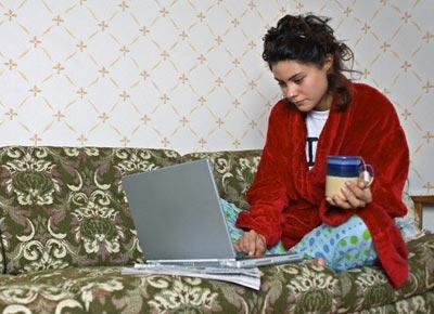 Работа на дому и  отвлекающие факторы