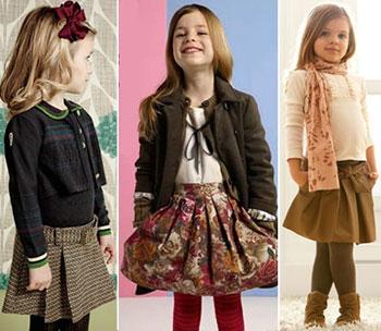 Самые модные юбки для детей