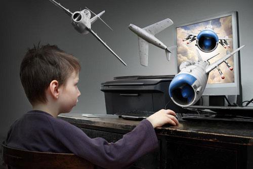 Почему не стоит бояться детских компьютерных игр